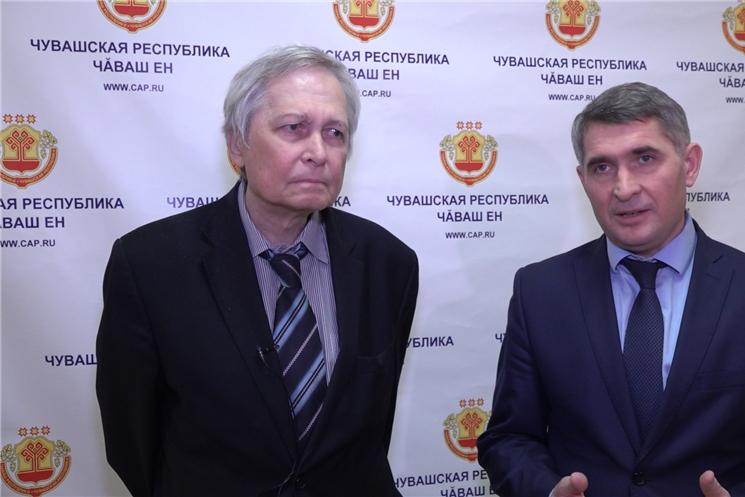Сегодня Олег Николаев провел ряд рабочих встреч.