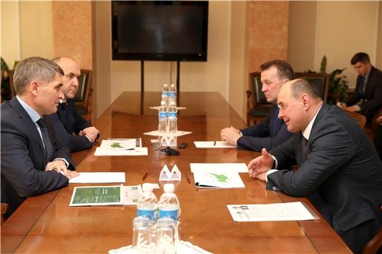 Встреча с генеральным директором АО «Холдинговая компания «Ак Барс» Иваном Михайловичем Егоровым