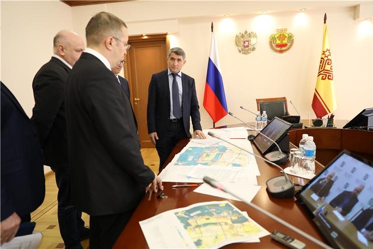 Олег Николаев взял на контроль строительство очистных сооружений в Вурнарах