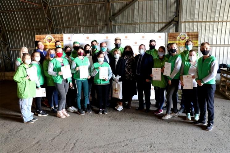 Меньше чем за месяц собрано 20 000 продуктовых наборов на базе Продфонда Чувашии в рамках акции взаимопомощи #МыВместе