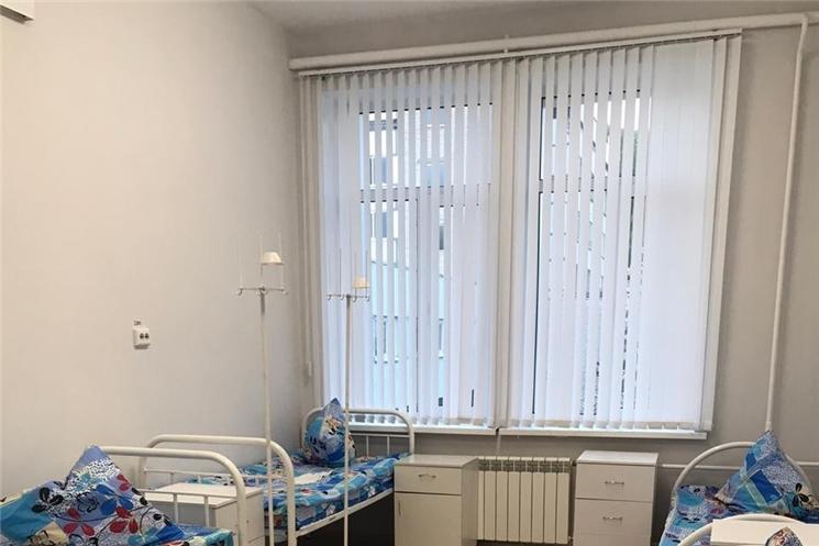 Развернуто 30 дополнительных коек для госпитализации пациентов