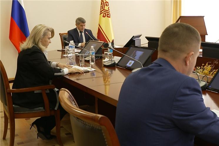 В Доме правительства прошло  совещание Оперативного штаба по борьбе с распространением коронавируса