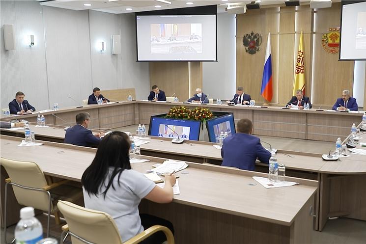 29 мая прошло заседание Совета при Главе Чувашии по стратегическому развитию и проектной деятельности.
