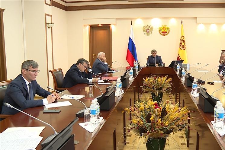 В Доме Правительства обсудили возможности модернизации систем освещения