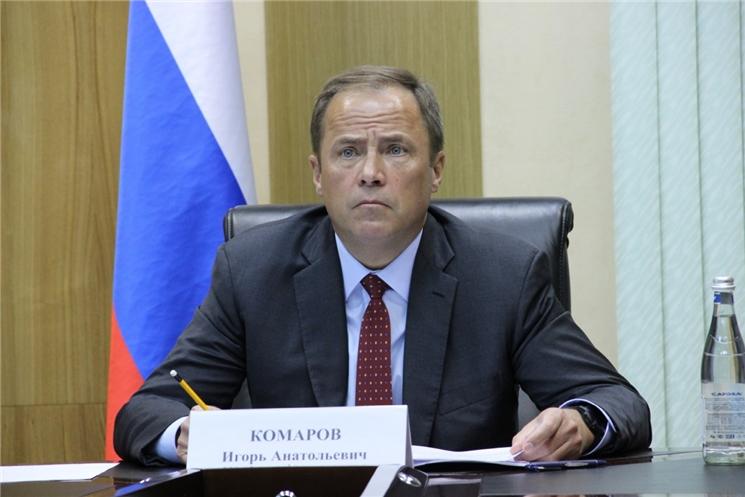 Полномочный представитель Президента РФ в ПФО Игорь Комаров провел прием граждан