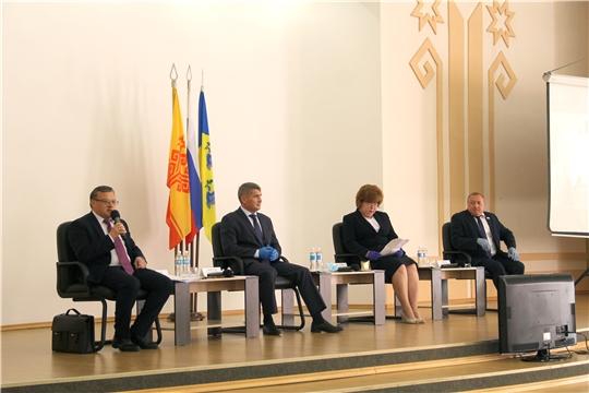 В Новочебоксарске обсудили Комплексную программу развития Чувашской Республики