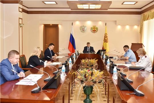 Заседание оперативного штаба по предупреждению распространения коронавирусной инфекции на территории Чувашской Республики