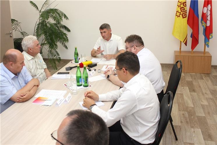 Олег Николаев обозначил новые направления развития  Ядринского района