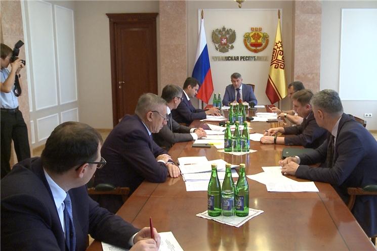 Врио Главы Чувашии Олег Николаев провел совещание по созданию круглосуточного ситуационного центра