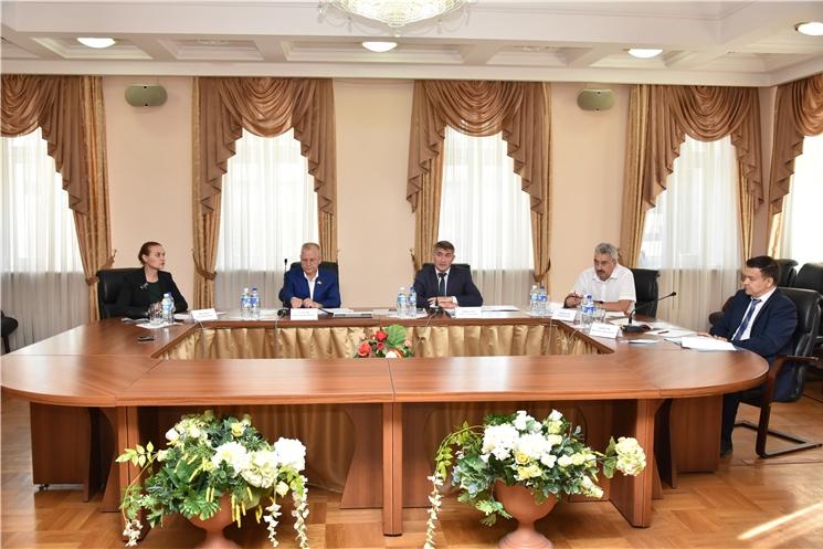 Встреча с членами Президиума и Совета старейшин  Чувашского национального конгресса по обсуждению вопросов национального развития в Чувашской Республике