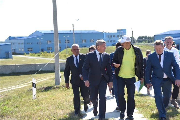 Рабочая поездка врио Главы Чувашии О. Николаева в Шемуршинский район
