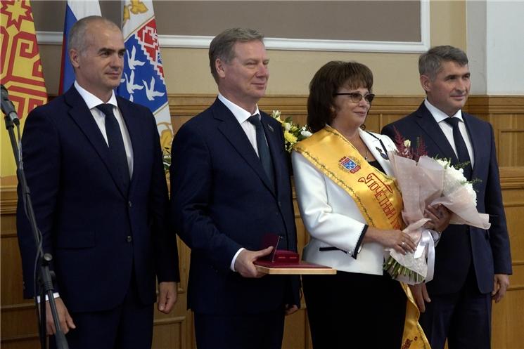 В Чебоксарах состоялось торжественное вручение муниципальных наград.