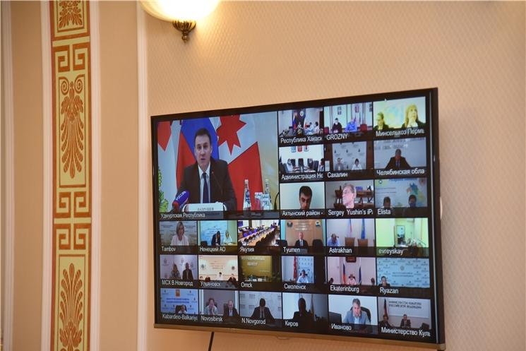 Олег Николаев принял участие во Всероссийском совещании по вопросу реализации госпрограммы Российской Федерации «Комплексное развитие сельских территорий»