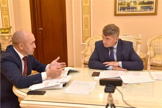 ВКС с Министром сельского хозяйства Российской Федерации  Дмитрием Патрушевым