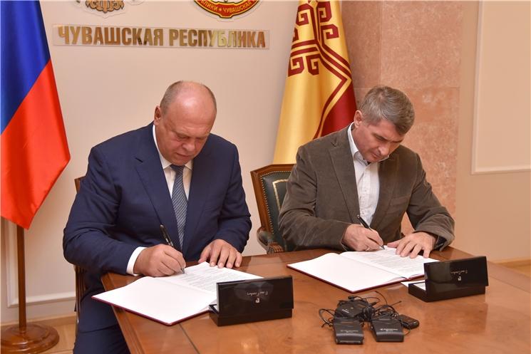 Между Чувашской Республикой и РЖД подписано соглашение о сотрудничестве