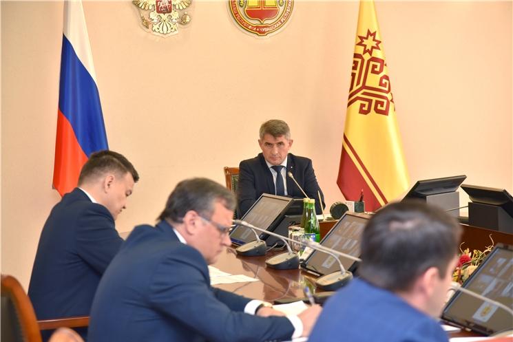 Олег Николаев провел заседание Комиссии по координации работы по противодействию коррупции