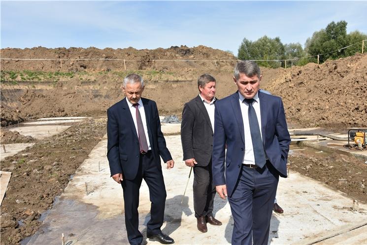 Олег Николаев поручил ввести в эксплуатацию станцию биологической очистки сточных вод в Янтиково в ближайшее время