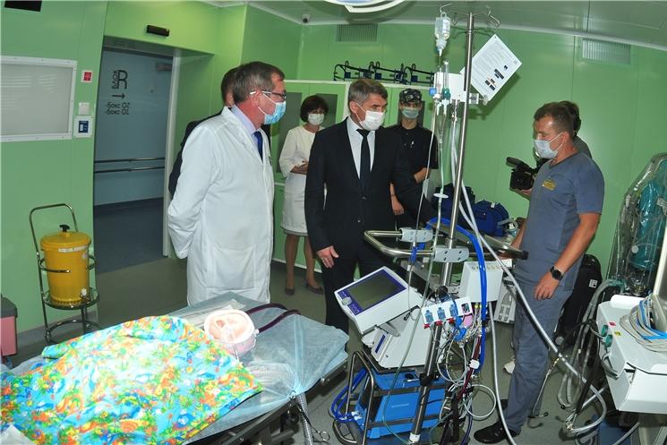 Врио Главы Чувашии посетил Республиканскую детскую клиническую больницу