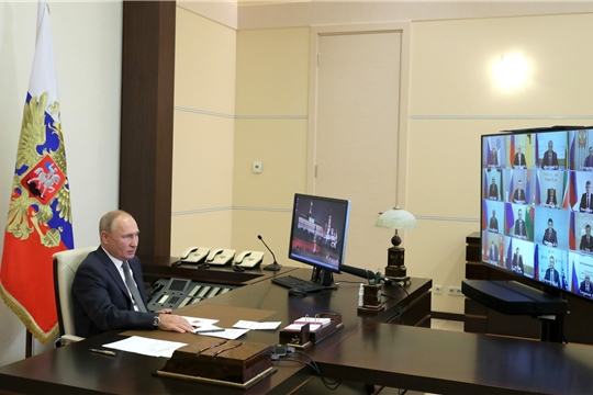 Встреча Владимира Путина с избранными главами субъектов Российской Федерации