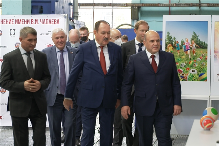 В Чувашии с официальным визитом побывал премьер-министр правительства России Михаил Мишустин