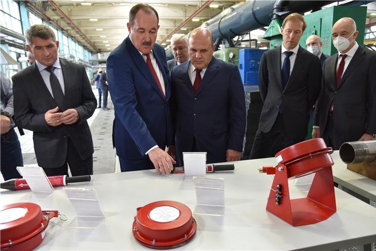Чувашию с рабочим визитом посетил Председатель Правительства России Михаил Мишустин