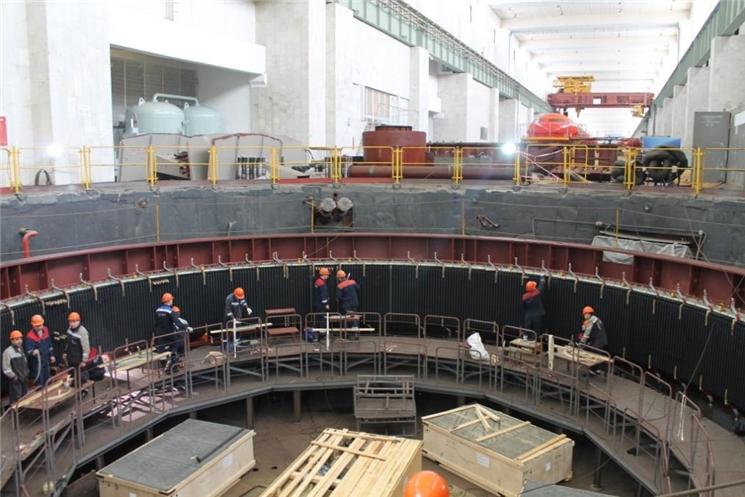 РусГидро модернизировало половину гидрогенераторов Чебоксарской ГЭС