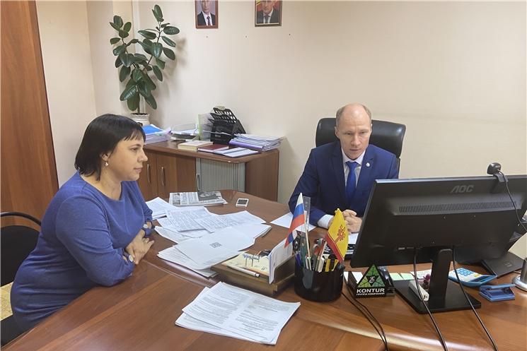 Проект «Юристы – населению»: проведен прием граждан для жителей Порецкого района Чувашской Республики