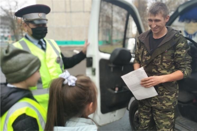 Столичные школьники приняли участие в акции «Письмо водителю»
