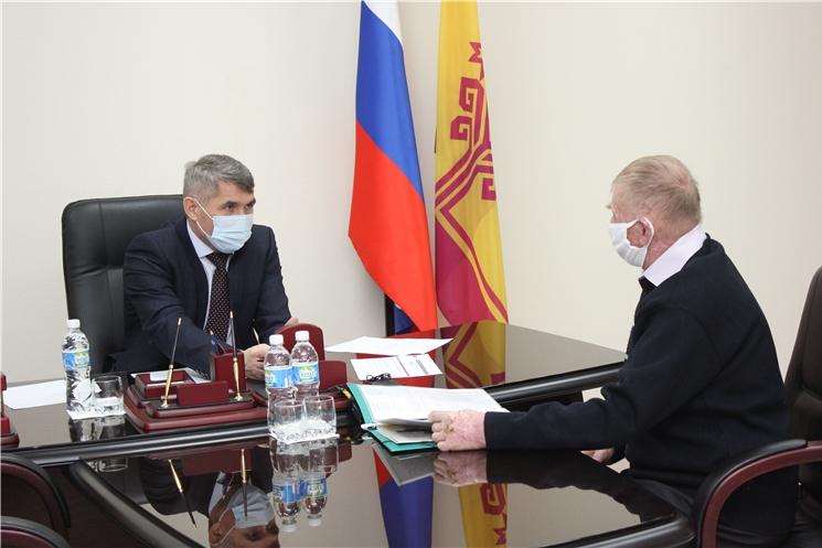 Олег Николаев провел очередной прием граждан по личным вопросам