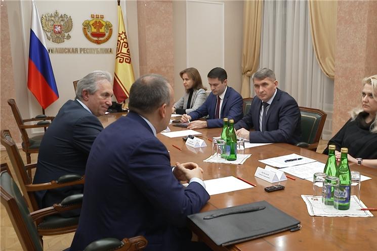 Подписано соглашение о сотрудничестве между Кабинетом Министров республики, Национальным агентством развития квалификаций и Торгово-промышленной палатой Чувашии