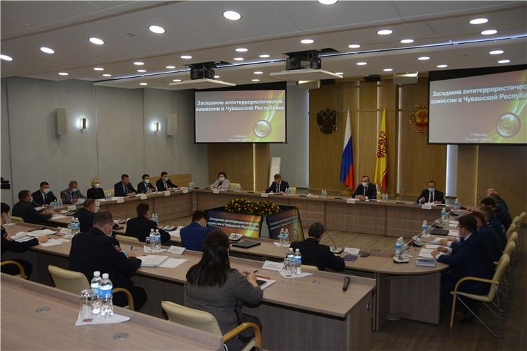 На заседании антитеррористической комиссии обсудили вопросы безопасности объектов транспортной инфраструктуры