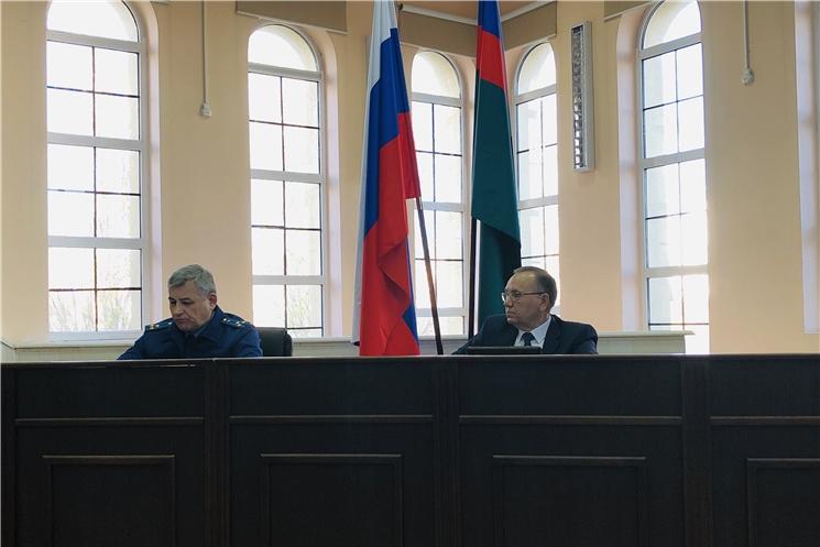 Главный федеральный инспектор провел координационное совещание с руководителями территориальных органов федеральных органов исполнительной власти