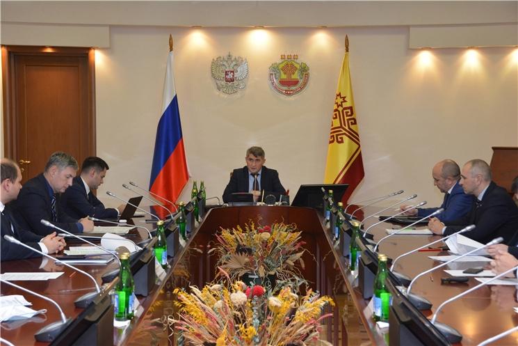 Олег Николаев видит перспективы расширения сотрудничества между Чувашией и Республикой Беларусь
