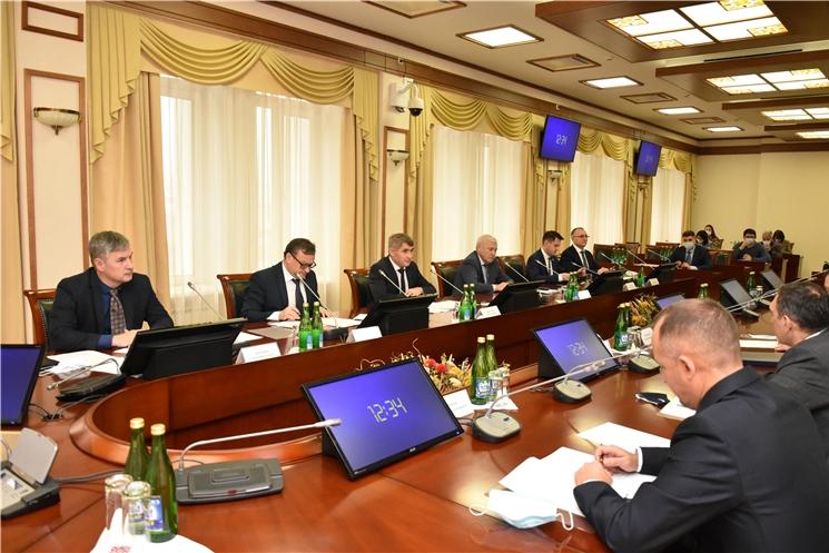 Олег Николаев провел рабочую встречу с Председателем ПАО «Промсвязьбанк» Петром Фрадковым