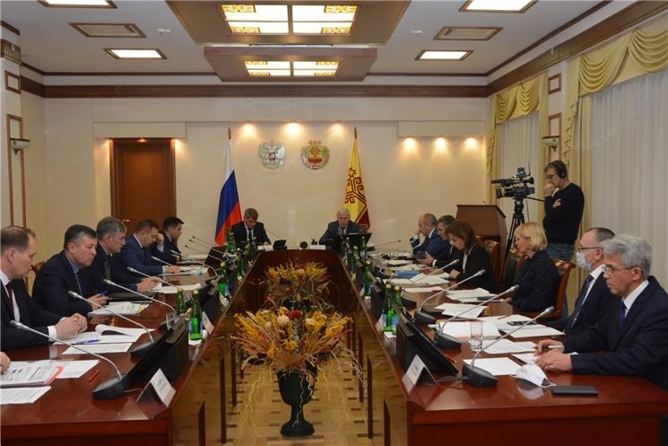 На заседании Высшего экономического совета обсудили развитие Шумерли и Шумерлинского района