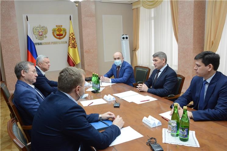 Глава Чувашии Олег Николаев провел рабочее совещание по вопросу деятельности ООО «Агрохолдинг «Юрма»
