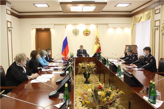 Заседание Антинаркотической комиссии Чувашской Республики