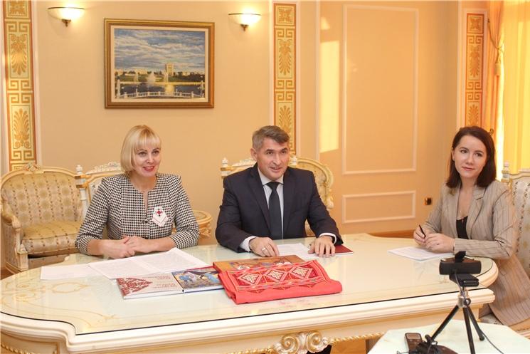 Опыт Великобритании будет использован при возрождении национальной школы вышивки в Чувашии