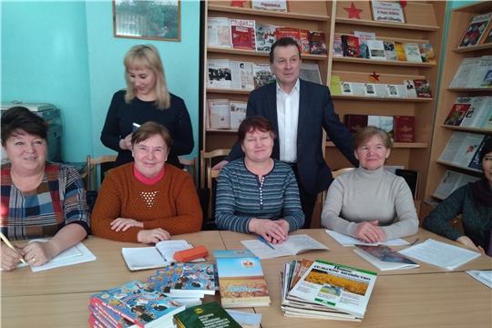 Николай Курчаткин принял участие в Международном Дне дарения книг