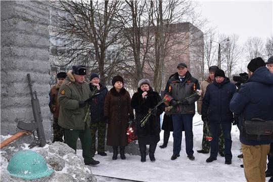 Альбина Егорова приняла участие в торжественном митинге, приуроченном к 31-ой годовщине вывода советских войск из Афганистана