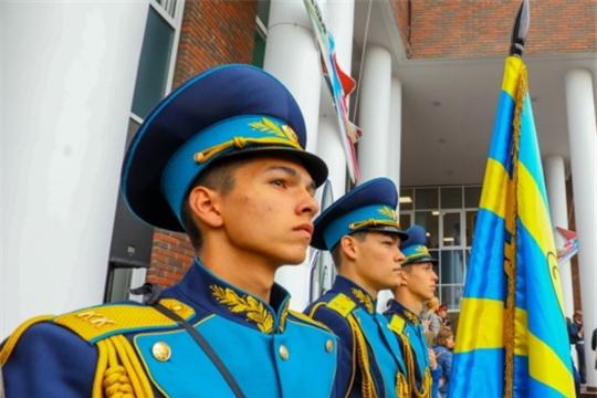 Николай Николаев принял участие в церемонии посвящения в кадеты