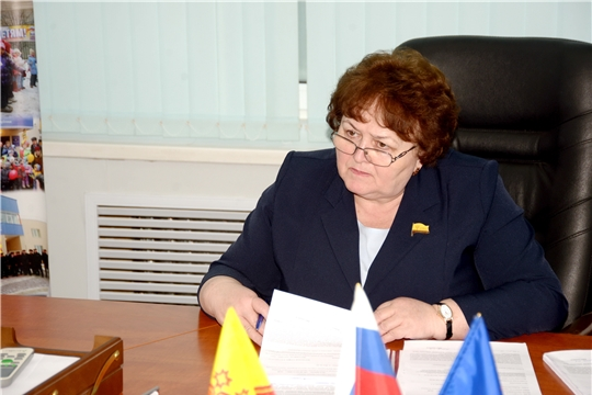 Председатель Государственного Совета Чувашской Республики Альбина Егорова провела прием граждан по личным вопросам