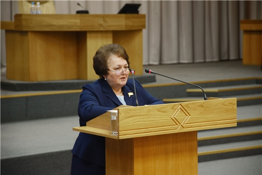 Альбина Егорова: «Выработка согласованных решений позволит нам создать условия для дальнейшего развития нашей республики, повышения благосостояния ее жителей»