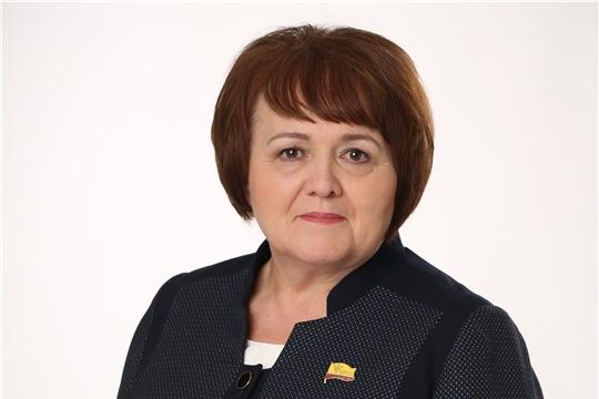 Спикер республиканского парламента Альбина Егорова обратилась к жителям Чувашии в связи с пандемией коронавируса