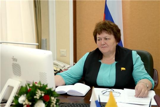 Руководством парламента обсужден план основных мероприятий, проводимых в Государственном Совете Чувашской Республики в июне 2020 года