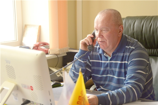 Вячеслав Рафинов провел дистанционный прием граждан