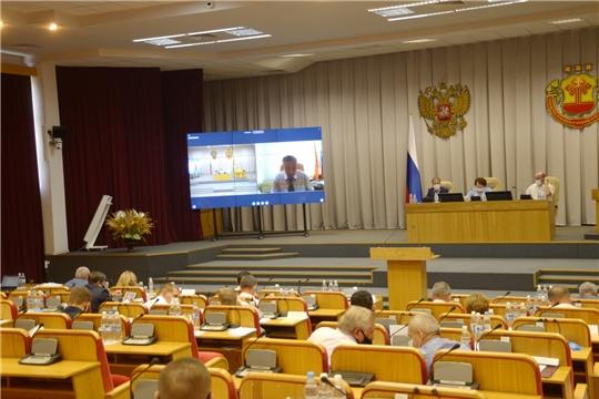 В ходе очередной сессии депутатами принят ряд законов Чувашской Республики
