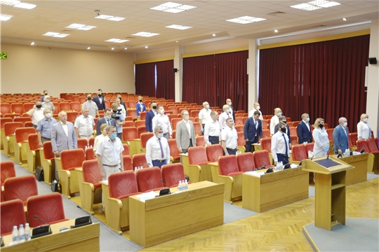 Очередная 42 сессия Государственного Совета Чувашской Республики