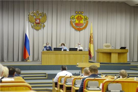 Состоялась очередная 42 сессия Государственного Совета Чувашской Республики