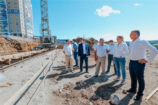 В Чебоксарах началось строительство двух новых детских садов